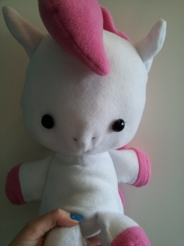 Plushie Baby Pony aus Fleece