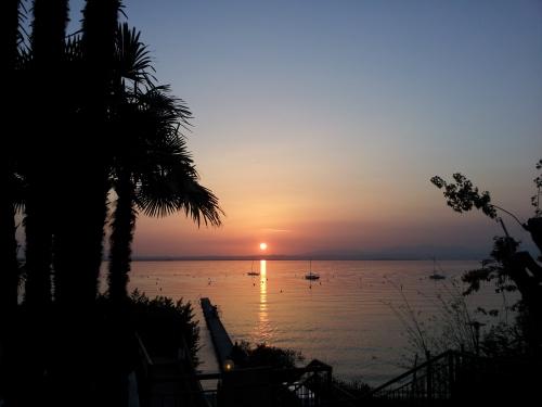 Venedig - Sonnenuntergang am Gardasee