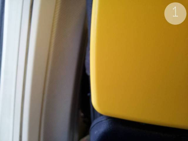 Yellow 1 - Ryanair Seat