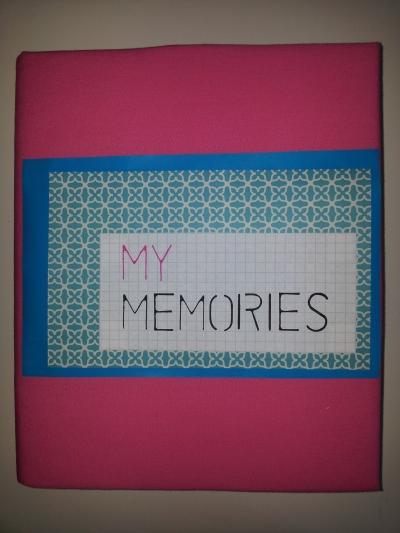 Memory Book Cover