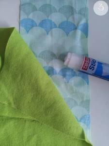 DIY Handytasche - Schritt 3
