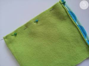 DIY Handytasche - Schritt 5