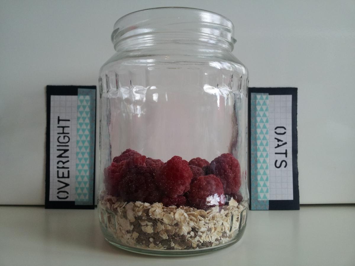 Overnight Oats - Praktische & gesunde Mahlzeit