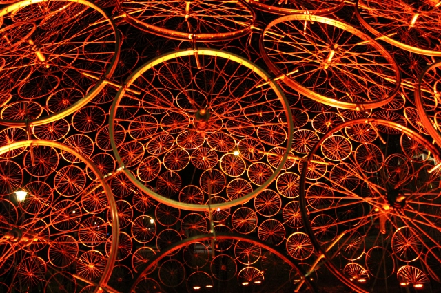 Amsterdam Light Festival - Re(bi)cycle Dome