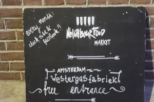 Neighbourhood Food Market im Westerpark